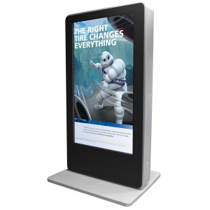 "72"" Outdoor Floor-stand Digital Signage"
